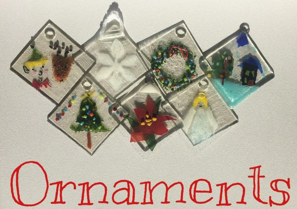 Holiday Glass Ornament Making Sessions