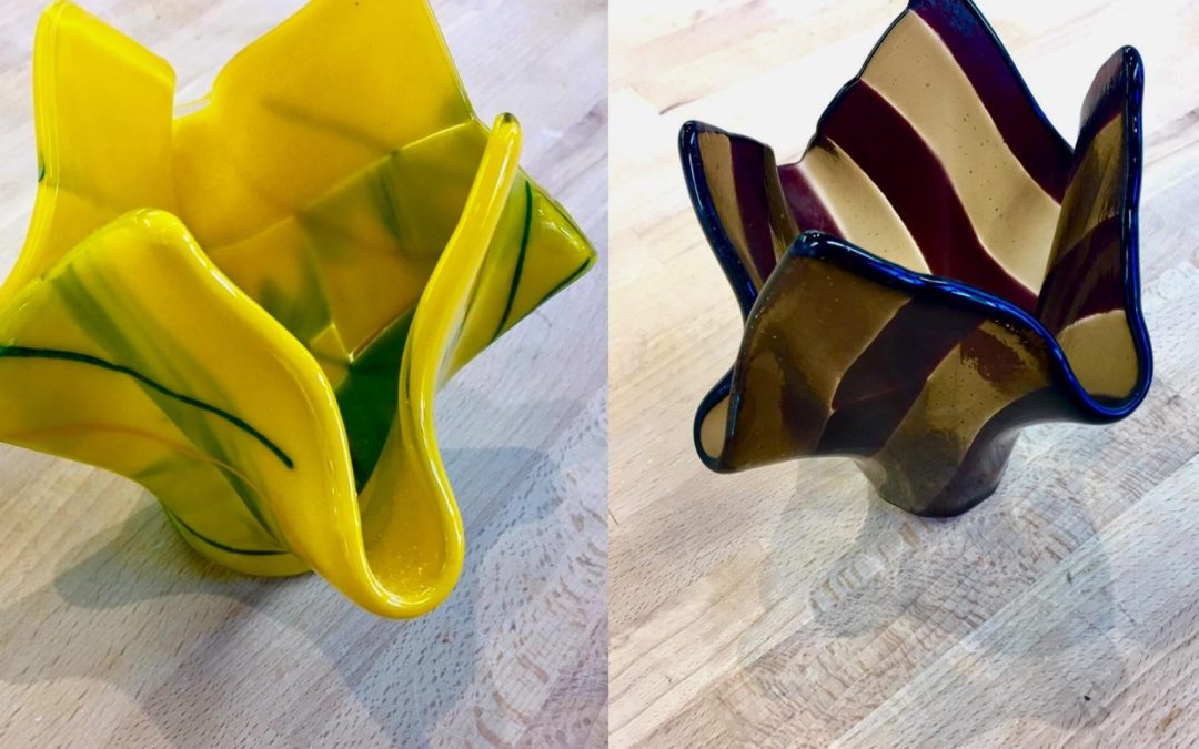 Fused Glass Drape Vase Class